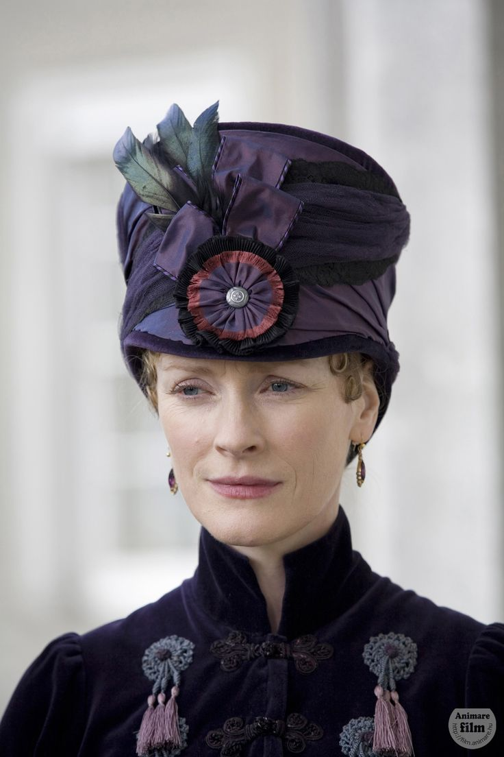 HAT LOVE - Claire Skinner, Fanny Dashwood - Sense & Sensibility directed by John Alexander (TV Mini-Series, BBC, 2008) #janeausten