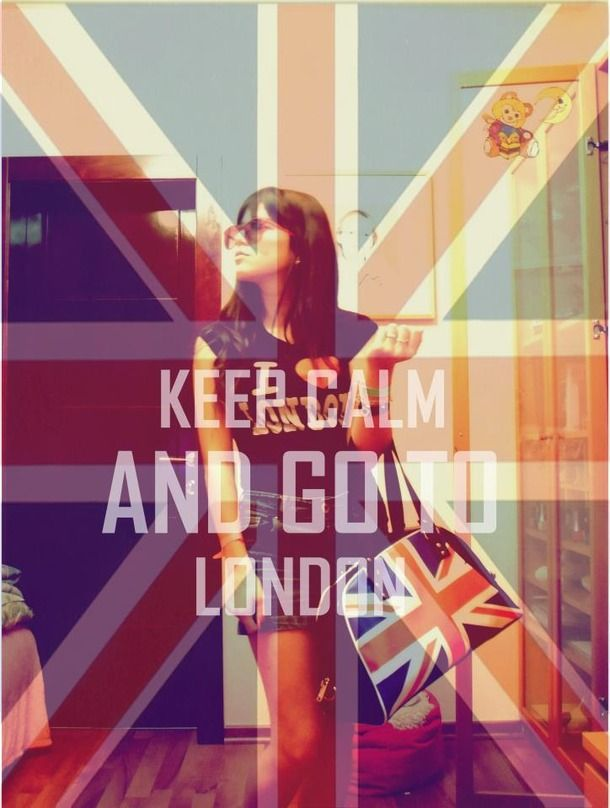 london flag colors dresses insprired  | british flag, girl, keep calm, london - image #305820 on Favim.com