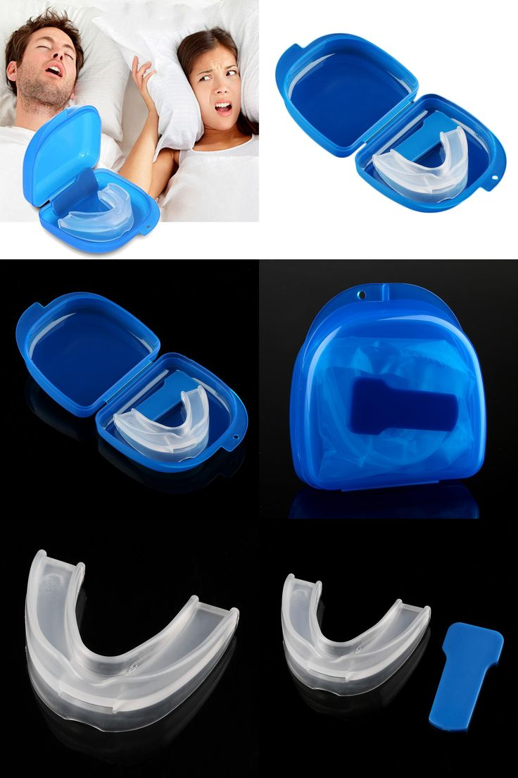 [Visit to Buy] Mouth Guard Stop Teeth Grinding Anti Snoring Bruxism with Case Box Sleep Aid Eliminates Snoring Health Care #Advertisement