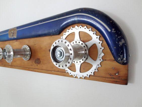 Recyclé de Coat Rack accessoires de vélo par Winterwomandesigns