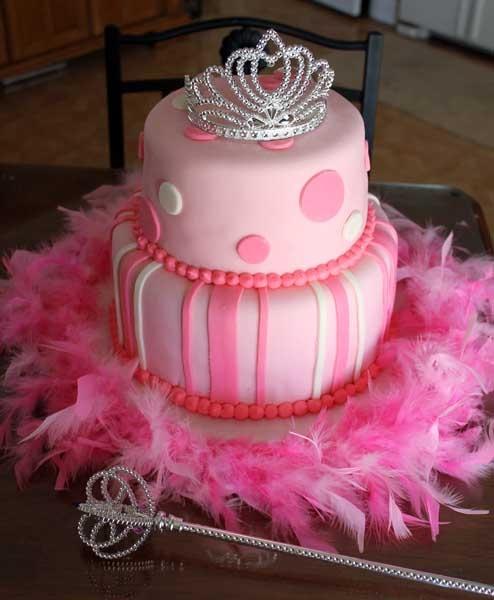 Princess birthday cake for Poppy. :)