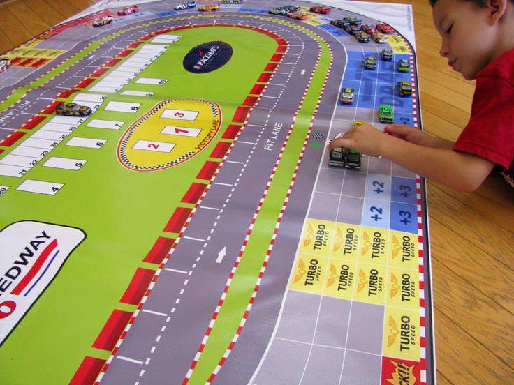 8' x 4' NASCAR RACE TRACK / BOARD GAME for 1:64 cars | eBay