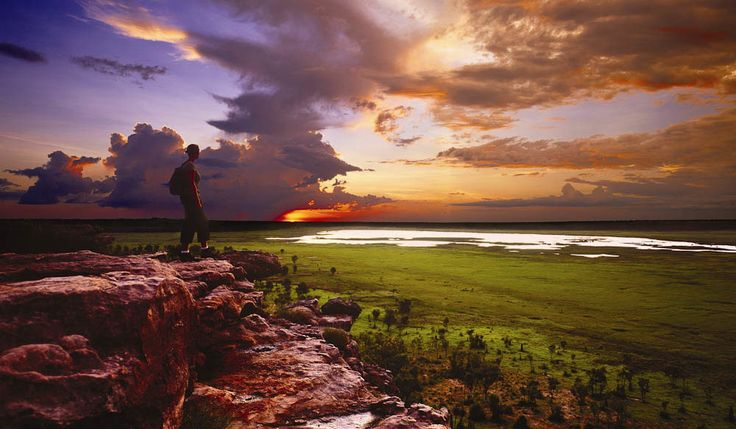 We arrive at #Ubirr in time for sunset where you'll see vivid #Aboriginal rock art that dates back over 20,000 years. Then we head to our overnight camp in #Kakadu
