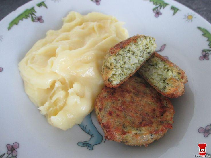 Brokolicové fašírky - Jedlá a recepty pre deti - Receptypredeti.eu