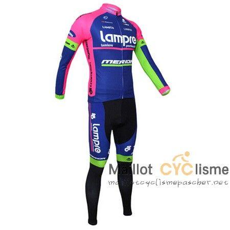 maillot cyclisme a pas cher.: maillot Cyclisme MERIDA 2015 manche longue kits