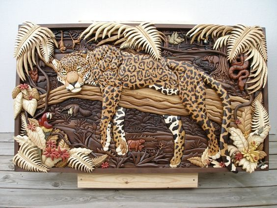 Pictures of wood (marquetry) Kathy Wise