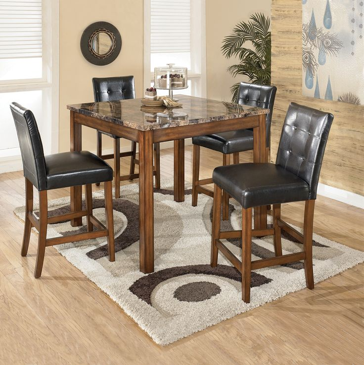 Theo 5 piece pub set diningroom home furniture For more  : 8ca34577927f09e14352d3887c9a2f31 counter height dining sets pub tables from www.pinterest.dk size 736 x 739 jpeg 108kB