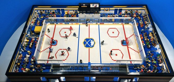 LEGO Hockey Arena Video