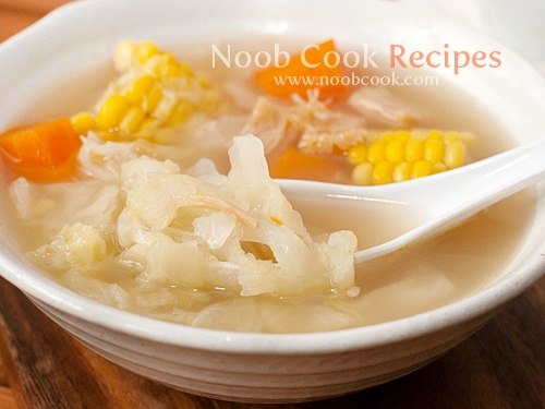 Chinese Cabbage Soup with Pork Ribs, Corn and Carrots.: Soups China, China Cabbages, Chinese Soups, Cabbages Soups, Chine Corn Soups Recipes, Asian China, Pork Ribs, Chinese Cabbages, Cabbage Soups