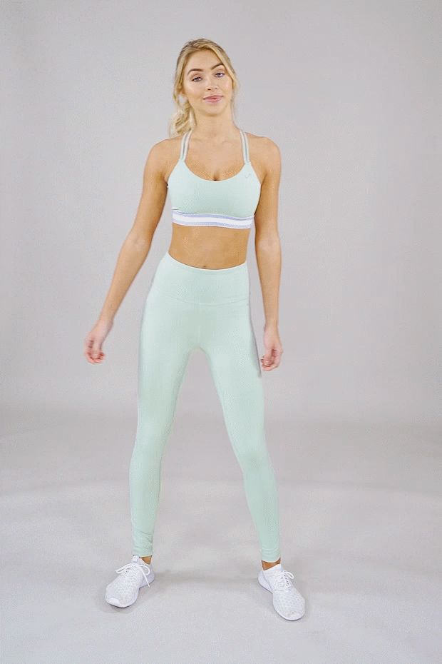 Yoga Clothes : Set yourself in motion. in 2020 | Legging ...