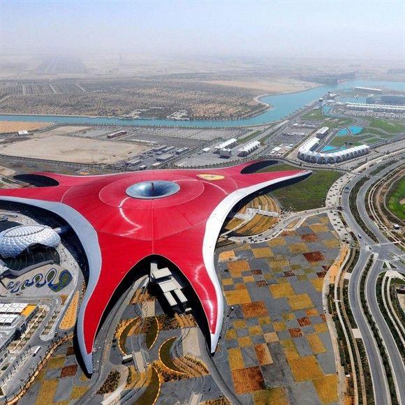 Em cenário futurista, AMK Viagens proporciona experiência de viagem no GP de Abu Dhabi / MSN - Grande Prêmio