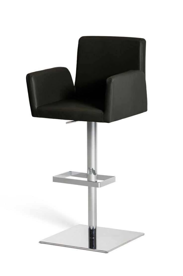 Modrest Morden Modern Black Bar Stool VGCBT1221-BLK  sc 1 st  Pinterest & Best 25+ Black bar stools ideas on Pinterest | Black quartz ... islam-shia.org