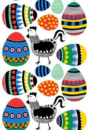 "Marimekko ""Rairai"" pattern by Maija Louekari"