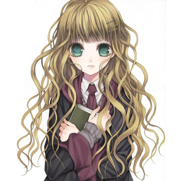 Artist Request Book Brown Hair Green Eyes Hairpin Harry Potter Liked On