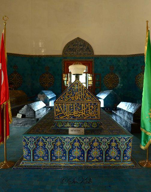 Tomb of Ottoman Sultan Mehmed I, Bursa, Turkey by Sv K., via Flickr