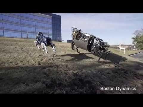 Boston Dynamics apresenta cachorro robótico que não perde equilíbrio ao ser chutado +http://brml.co/1IMOile