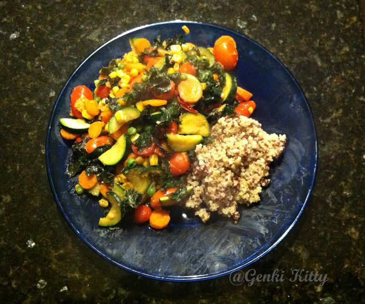 Quinoa Mixed Veggie Vegan Meal