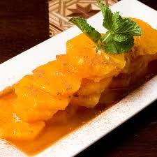 Yummy desserts from UBELONG Volunteer Abroad destinations: Cinnamon Oranges from Morocco. #VolunteerAbroad #Morocco