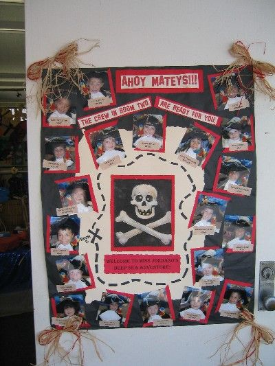 Ahoy Mateys!!! I took a photo of each child in a pirate costume then they picked their own pirate names