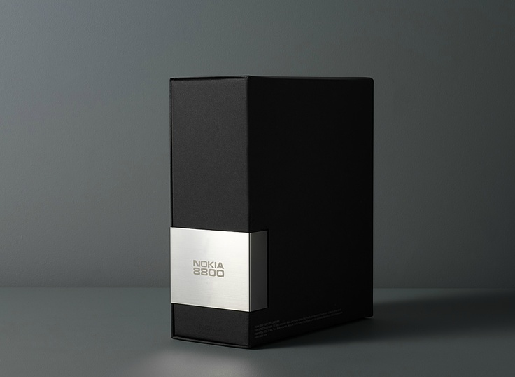 Nokia 8800 packaging by http://madethought.com