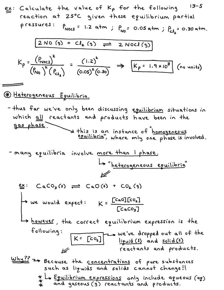 Chemistry Notes Chemistry Pdf Chemical Equilibrium and