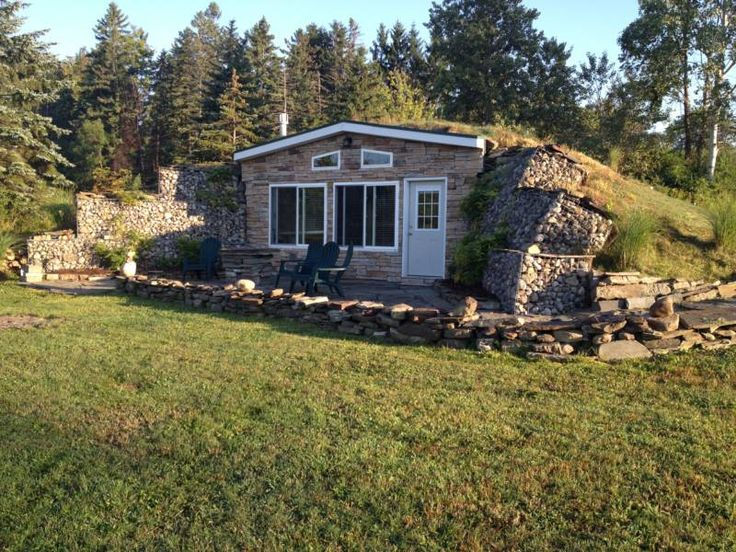 How to build an underground off grid virtually Earth bermed homes