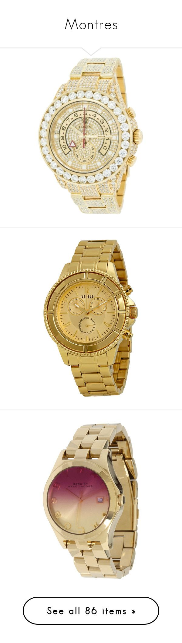"""""""Montres"""" by laurie-1994 ❤ liked on Polyvore featuring jewelry, watches, accessories, rolex jewelry, rolex, rolex wrist watch, pre owned watches, rolex watches, relojes and relógios"""