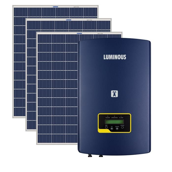 Loom Solar Presents On Grid Solar Inverter By Luminous To Save Electricity Bills It Is A Recommended On Grid Solar System Solar Companies Solar Energy System