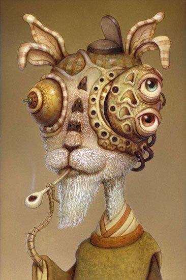 Weird creature by Naoto Hattori