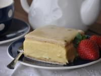 Vanilla Slice with Passionfruit Icing by Anne-Marie on www.recipecommunity.com.au
