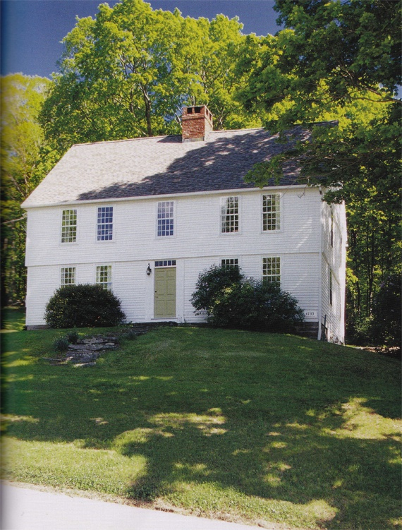 Love this style.  A 1736 Colonial home in Litchfield, Connecticut.
