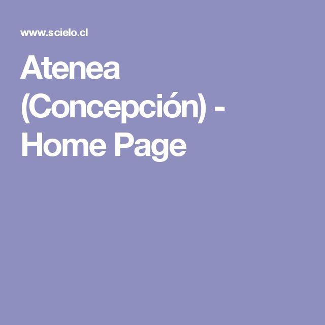 Atenea (Concepción) - Home Page