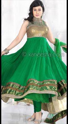 Stylish Designer Indian Party Churidar Dress