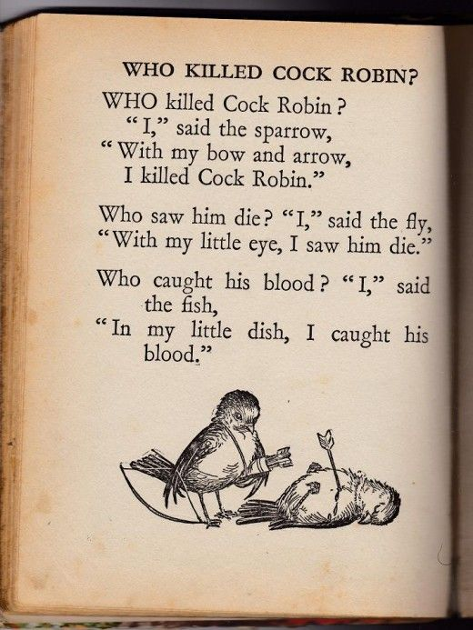 Who killed cock robin first