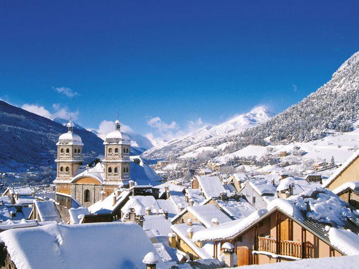 Serre Chevalier, la plus grande station de sports d'hiver des #Alpes du Sud   #France