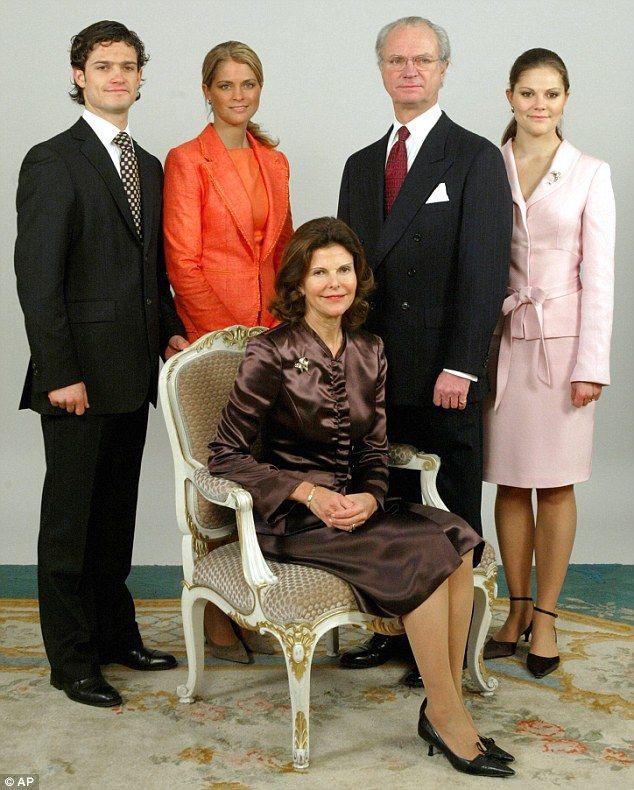 Reine Silvia De Suède Et Le Roi Carl