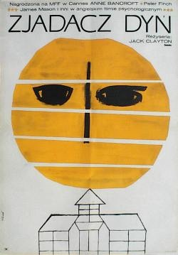Designer: Hibner. Title: Zjadacz Dyn [Pumkin Eater]. 1966. £200