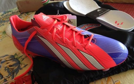 Nuevos botines Adidas F50 adizero de Messi 2013