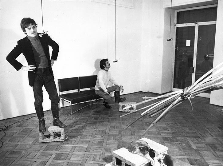 Gilberto Zorio   Microphones   1968