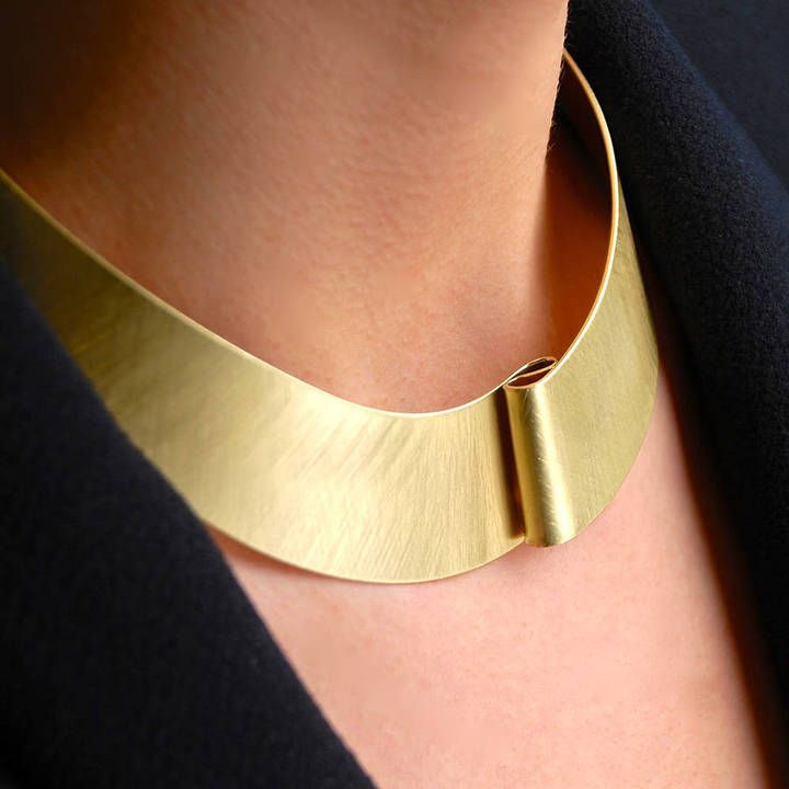 Get Penelopetom Pleat Choker from at Notonthehighstreet.com just only £38 sale off £.