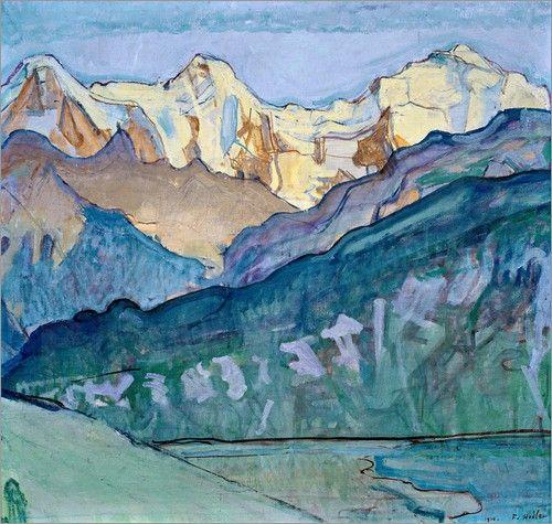 Jungfrau, Mönch und Eiger - Ferdinand Hodler
