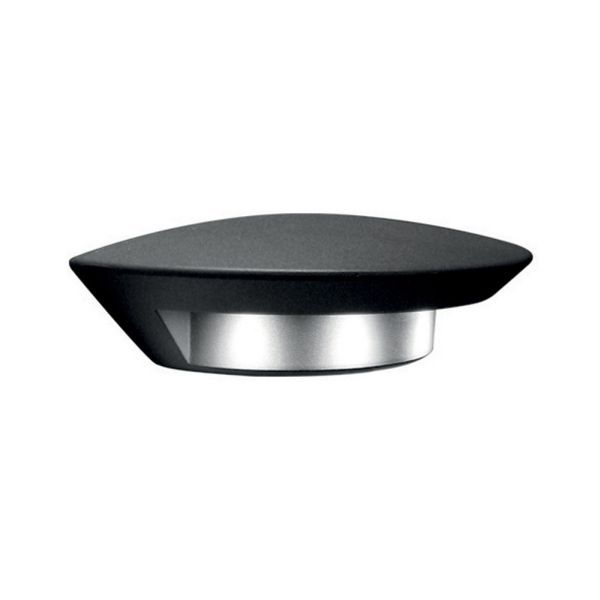 Elstead Lutec UT/GHOST 1880S|  ECO friendly LED outdoor wall light, Height:       7cm       Width:  26.4cm     Projection: 13.4cm. £125 in graphite powder coated finish.