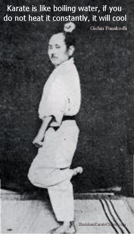 gichin funakoshi quote
