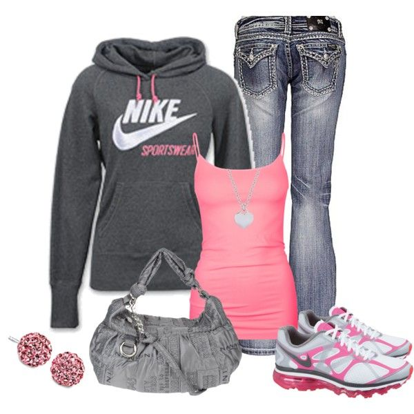 Perfect for an errand day More Shoes, Sporty Outfit, Dreams Closet, Outfit Ideas, Style, Nike Outfit, Winter Outfit, Comfy Casual, Cute Outfit