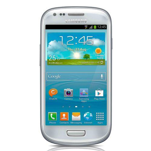 SAMSUNG I8190 GALAXY S3 MINI, BIANCO EUROPA  139 euro  Autonomia in comunicazione: Fino a 7 ore processore: Dual Core 1 GHz Tecnologia del display: Display capacitivo Super AMOLED Dimensioni del display: 4″ (480 x 800 pixel)