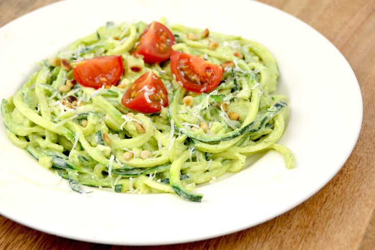 Courgetti pesto