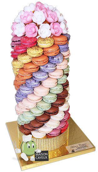 Tour de 126 Macarons de Paris