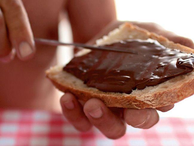 immagine della crema di cioccolato alla nocciola