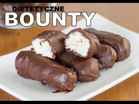 Dietetyczne Bounty - Zdrowe Słodycze - YouTube