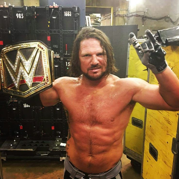 New WWE Champion AJ Styles